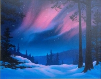 A Warm Presence 14x18 Mixed Media Painting