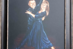 Ballroom Dancers 20x16 Ciglez